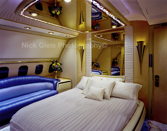 private jet sleaping room Photos From The Inside Of Most Luxurious Private Jets